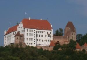 Burg Trausnitz über Landshut